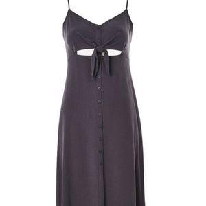 Topshop button front midi dress (NWT size 12)